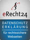 eRecht24 - Datenschutzerklärung für rechtssichere Webseiten